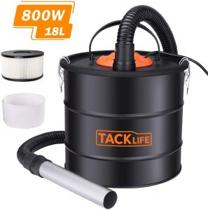 aspirateur cendres Tacklife
